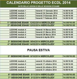 CALENDARIO-ECDL